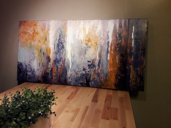Hand painted Acrylic wall painting