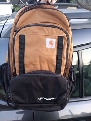 Carhartt backpack with lunchbox for Sale in Milwaukie, OR