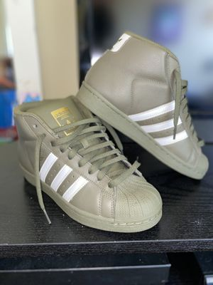 adidas pro model olive green for Sale in The Bronx, NY