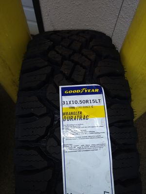 Goodyear wrangler Duratrac and A/T adventure w/kevlar for Sale in Monroe, WA