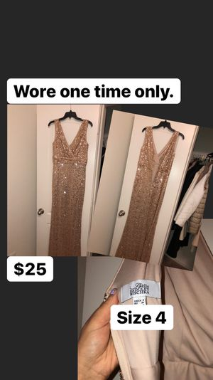Gold Party/ Event/ Prom Dress for Sale in Saginaw, TX