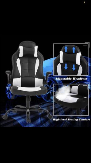 Brand new gaming/office chair with massage lumbar for Sale in Henderson, NV