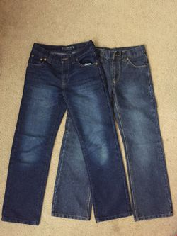 2 pairs of Boys jeans size:12 for Sale in Everett,  WA