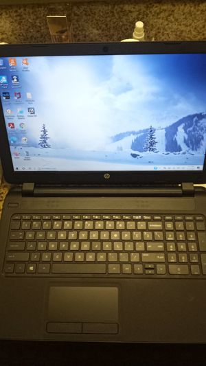 """Hp 15"""" notebook pc Brand-new used for 2 weeks for Sale in Anaheim, CA"""