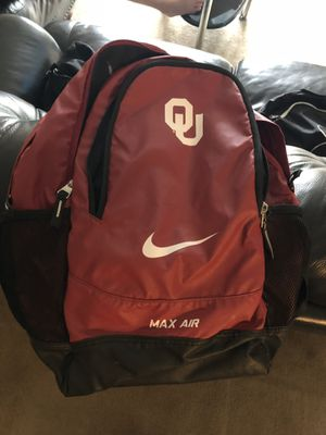 OU Backpack, WT Cheer Backpack (has name on it), Under Armor Duffle Bag for Sale in Denver, CO