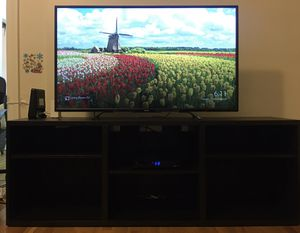 TOSHIBA 60HZ LED TV (55 inches) & TV Stand for Sale in New York, NY