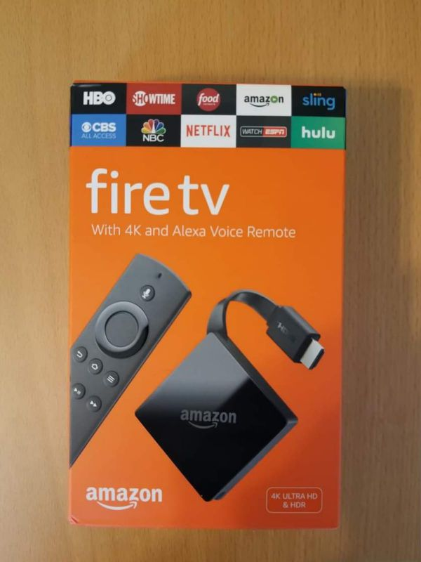 Brand New Amazon Fire TV 4k Box