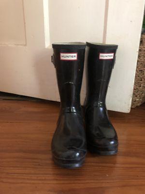 Women's Hunter Rain Boots - size 8.5 for Sale in Austin, TX