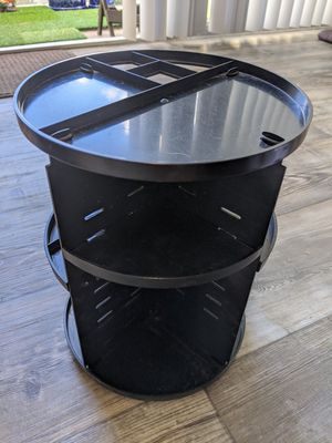 360° Rotation Vanity Makeup Organizer - Black for Sale in La Mesa, CA