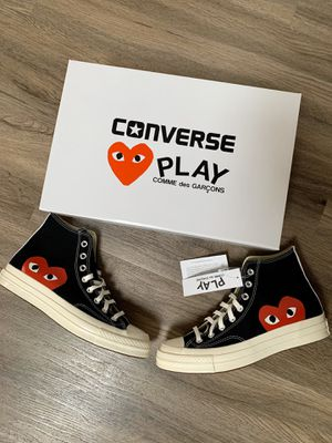 CDG Play Converse Chuck Taylor High for Sale in Port Orchard, WA