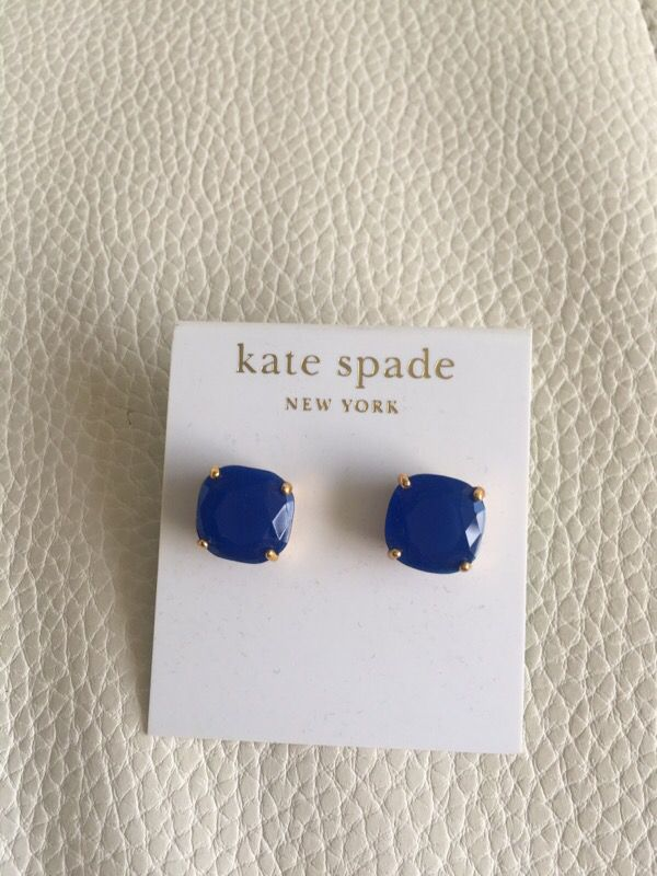 Blue Kate Spade Earrings