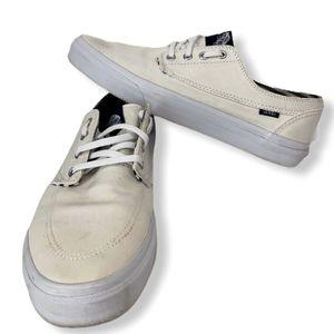 Men's Vans Off the Wall 721356 Men's Sz 10.5 Off White Skateboard Shoes Rare! for Sale in Longwood, FL