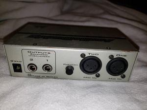 MAudio Audio Buddy preamp, DI box for Sale in Washington, DC
