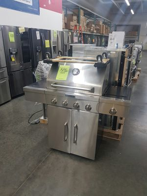 KitchenAid Stainless Steel BBQ Grill with Burner for Sale in Chino, CA