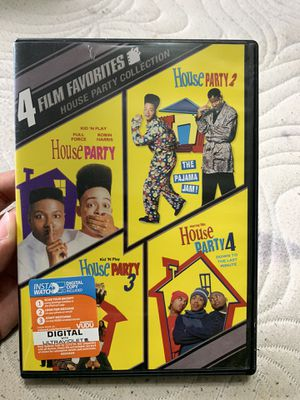 House Party 1-4 DVD for Sale in Chicago Heights, IL