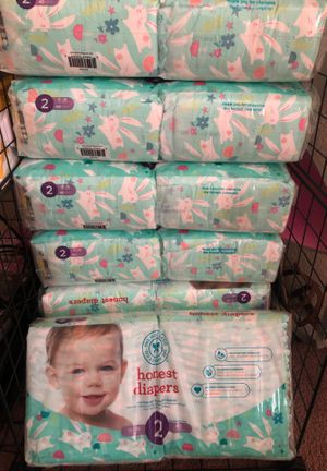 Honest diapers size 2 for Sale in Ontario, CA