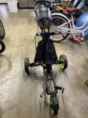 Caddytek🔥3-Wheel Swivel🔥1-Click Fold🔥Golf Push Cart for Sale in Rossmoor, CA