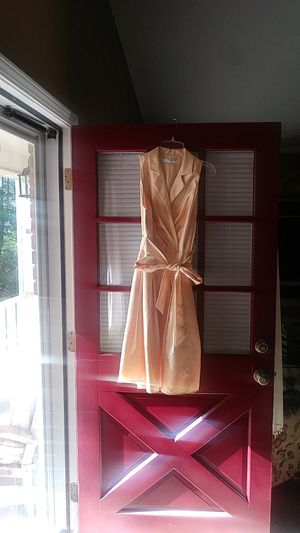 Gold dress size 14 petite made by piconne for Sale in Conyers, GA