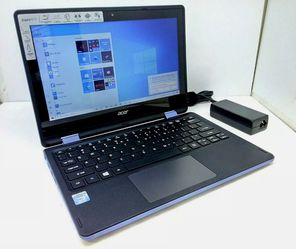 """Acer Touch 11.6"""" Laptop 2in1 intel N3050 1.6GHz - 32GB SSD, HDMI, 360° Hinge (R11 R3-131T Blue) for Sale in Kenmore,  WA"""
