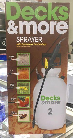 Sprayer Clean Seal Lawn Care Garden Care Insect Control Spray Decks & More for Sale in Miami, FL