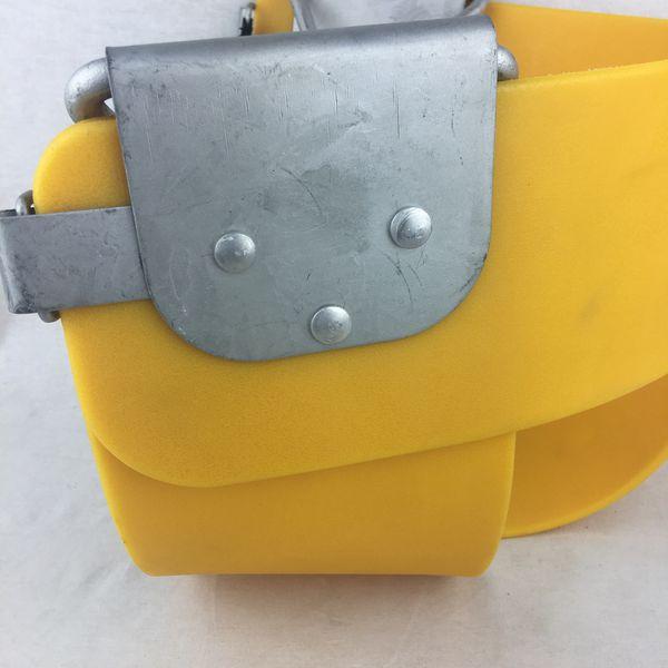 Swing Set Seat Toddler Transition Half Bucket Front Safety Strap PVC Swingset