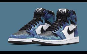 Nike Jordan 1 Tye Die size 7.5 men 9 woman $290 for Sale in Seattle, WA