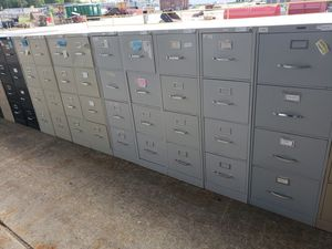 USED 4DRAWERS VERTICAL FILE CABINETS FOR SALE for Sale in Houston, TX