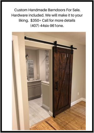 Custom Made Barndoors!! for Sale in Orlando, FL