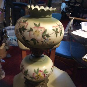 Vintage Hurricane Lamp for Sale in Ellicott City, MD