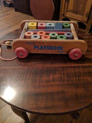 Vintage Playskool wagon for Sale in Bay, AR