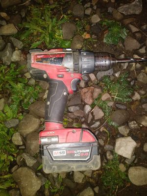 Milwaukee Fuel impact drill for Sale in Portland, OR