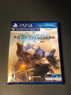 Golem ps4 NEW sealed for Sale in Union City, CA