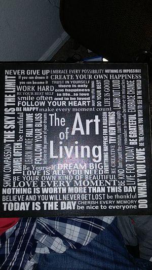 "11.5""x11.5"" inspirational word art for Sale in Mesa, AZ"