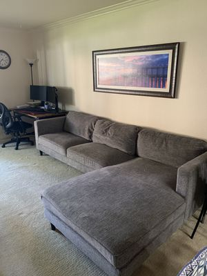 Grey couch / sectional for Sale in San Diego, CA