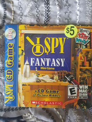 I spy computer game for Sale in Oshkosh, WI