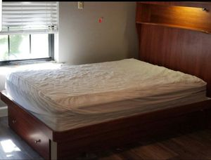 Full size platform bed with storage drawers for Sale in Arlington, TX