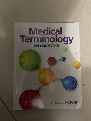 Medical terminology by suzanne s. Frucht for Sale in Miami, FL