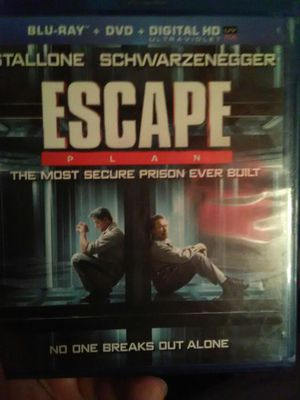 Escape Plan Blu Ray movie for Sale in Ontario, CA