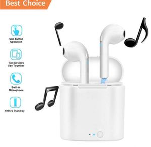 Brand new bluetooth wireless earphones headset headphones with portable charging case for Sale in Davie, FL