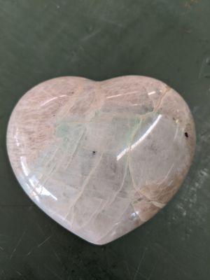 Garnierite heart palm stone large for Sale in Clinton, MO