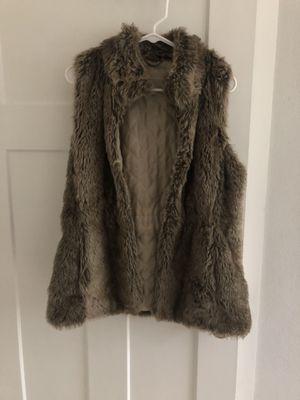 Banana Republic Faux Fur Vest - Small for Sale in Tacoma, WA