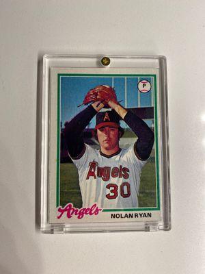 Nolan Ryan Baseball Card for Sale in Phoenix, AZ
