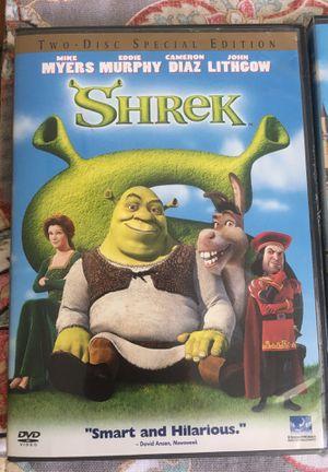 Shrek, Shrek 2 and Shrek the Third DVDs for Sale in Hurst, TX