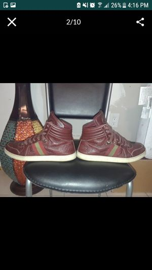 (REAL)Red Gucci Sneakers. I'll take the best offer i can get, need them gone for Sale in Homestead, FL
