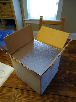 Free Insulated Mailing Box with Cold Packs for Sale in Tacoma, WA