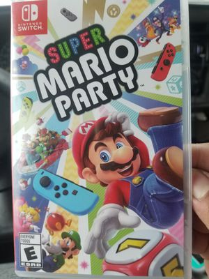 SUPER MARIO PARTY BOUGHT FOR MY SON BUT HE COULDN'T PLAY IT ON HIS NINTENDO SWITCH LITE ONLY CAN BE PLAY WITH REGULAR NINTENDO SWITCH ASKING FOR $30 for Sale in Los Angeles, CA