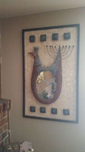 Metal mirror decor for Sale in Rockville, MD