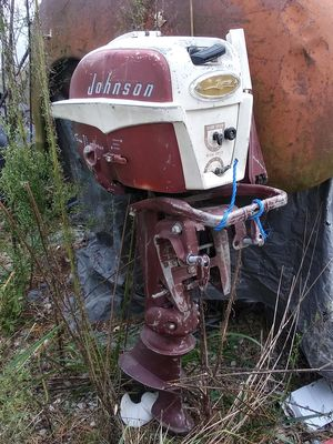 Johnson Sea Horse 7 1/2 Hp Boat Motor for Sale in Belleville, IL