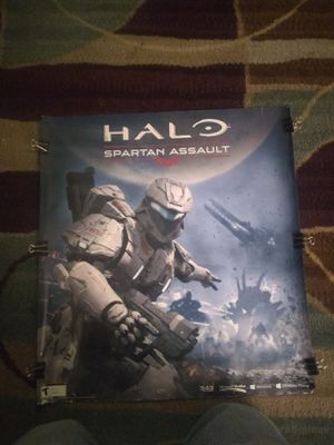 HALO Spartan Assault poster for Sale in Bakersfield, CA