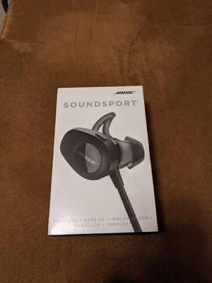 Bose SoundSport Wireless Headphones Brand New for Sale in Tampa, FL